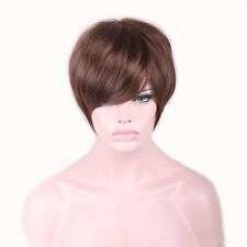 28cm Fashion Brown Sexy Bob Ladies Women's Synthetic Wig Short Hair Cosplay Wigs
