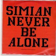 (ED392) Simian, Never Be Alone - DJ CD