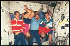 323033 SHUTTLE Crew A4 FOTO STAMPA