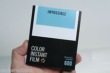 Impossible Project New Colour 600 film New type Polaroid 600 film 600, SX-70!