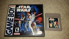 STAR WARS A NEW HOPE PLC GAME BOY GB EXMT CONDITION W CUSTOM CASE/