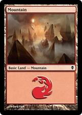 20x*Basic Land*Mountain*Zendikar*NM/SP*x20*243a*Magic the Gathering MTG*FTG