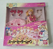 SAILOR MOON SUPER S Original Henshin Sailormoon Doll, Bandai 1995, Japan, MIB
