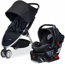 Britax B-AGILE 3 Travel System Stroller w B-SAFE 35 Infant Car Seat 2017 Black