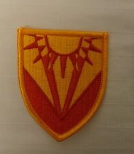 ARMY PATCH,SSI  357TH AIR AND MISSILE DEFENSE DETACHMENT