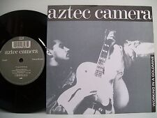 "7"" VINYL SINGLE. Working In A Goldmine by Aztec Camera. 1988. WEA. LC 4281."