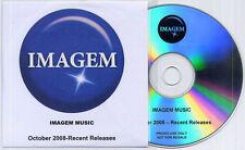 Imagem Music Oct 2008 Sampler promo publishing CD inc Kaiser Chiefs instrumental