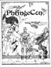 PHRINGE CON 1980 program book Lela Dowling cover of Vampirella, Star Wars, Elric