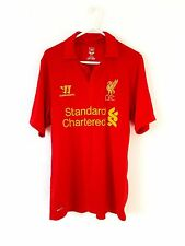 Liverpool Home Shirt 2012. Small. Warrior. Red Adults S Football Top Only.