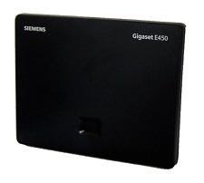 Basis Siemens Gigaset E450 analog schnurlos DECT GAP schwarz NEU !!!!
