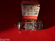 ECC808 TELEFUNKEN    NEW OLD STOCK  VALVE TUBE  J15