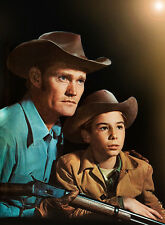Chuck Connors, Johnny Crawford - 8 1/2 X 11