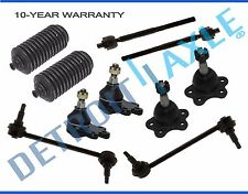Brand New 10pc Complete Front Suspension Kit 2004 - 2012 Chevy GMC Pick-Up 2WD