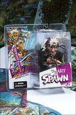 Mcfarlane The Art Of Spawn Series 26 Tiffany 3 Issue 45 Art