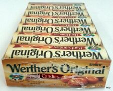 Werthers Original Hard Candies 12 ct Rolls Caramel Candy Bulk Storck Werther's