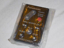 PANASONIC ORIGINAL VEQ1697 REMOTE CONTROLLER WIRELESS REMOTE NV RX VX SX RANGE