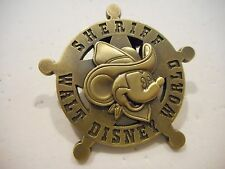 Mickey Mouse SHERIFF Walt Disney World 3-D Disney Pin