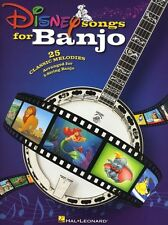 Disney Songs For Banjo Learn to Play 101 Dalmations Lion King TAB Music Book