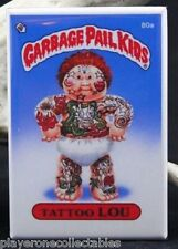 "Garbage Pail Kids Tattoo Lou 2"" X 3"" Fridge / Locker Magnet."