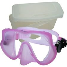Promate Raven Frameless Scuba Dive Mask with Box Case Snorkeling Gear Gift