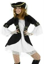 New Sexy Captain's Sailor Pirate Womens Fancy Dress Costume Size 12 - 14 P5888