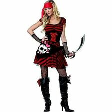 PIRATE JEWEL OF THE SEA BUCCANEER TOTALLY GHOUL WOMEN'S LARGE COSTUME