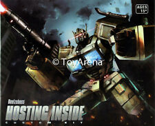 Beelzeboss BLZ-08H Hosting Inside Custom Kit for CW Battle Core Optimus Prime