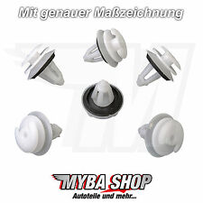 10x INTERIOR COVER CLIP WITH SEAL POM MOUNTING BMW E36 E39 E46 NEU