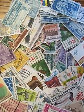 HENRY'S STAMPS - 082901- 100  DIFFERENT U.S. USED COMMEMORATIVES - OFF PAPER