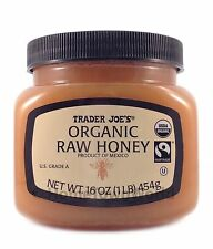 Trader Joe's Organic Raw Honey US Grade A (16 oz)