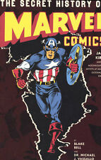 SECRET HISTORY OF MARVEL COMICS HARDCOVER by Jack Kirby, Moonlighting Artists HC