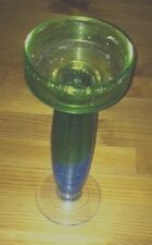 Blue And Green Candle Holder. GLASS PIER 1