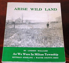 Arise Wild Land by Lindsey Williams, very good condition
