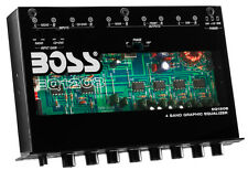Boss EQ1208 4 Band Amplified Equalizer w/ Subwoofer Control