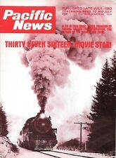 Pacific News 245 1983 Rio Grande D&RGW Canadian Pacific The Gray Fox Movie Queen