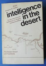 Intelligence in the Desert North Africa Tripolania 1st ed signed Maj Tobler WWII