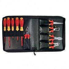 Wiha 32891 Insulated Pliers and Screwdriver Set, 1000 Volt, 10 Piece