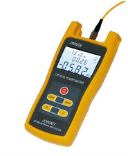 Handheld Optical Power Meter Tool JW3208A Laser Fiber Optic 70dBm~+3dBm