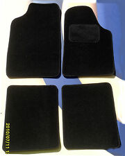 FIAT PUNTO EVO 2010 on LUXURY BLACK CARPET CAR FLOOR MATS