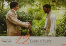 12 YEARS A SLAVE - Lobby Cards Set - Benedict Cumberbatch, Michael Fassbender