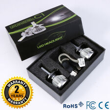 2x H4 Hi/Lo Beam 6000LM 60W LED Light Headlight Vehicle Car Bulb Kit 6000k