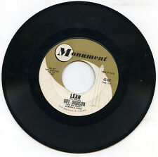 ROY ORBISON Leah / Workin' For The Man US MONUMENT 459 1962 45rpm