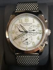 Victorinox Swiss Army Chronograph Men's Watch With Boxes