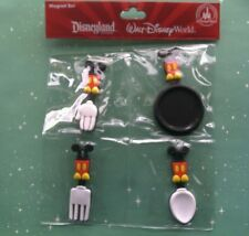 Disney Parks Kitchen Tools Magnet Set Spatula Fork Pan Spoon New in Package