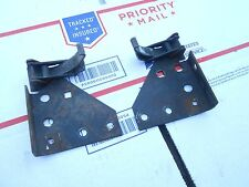 1976 John Deere 440 Liquifire snowmobile: BOTH HOOD LATCH ASSEMBLIES