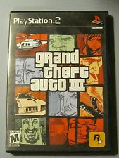 Grand Theft Auto III 3 PlayStation 2 PS 2 Black Label 2001