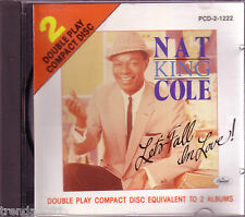 NAT KING COLE Lets Fall In Love CD Classic 60s R&B CAPITAL RECORDS 1989 Rare