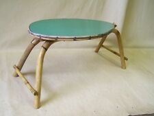 Age Kidney-shaped table, DDR Flower stool bench Iconic Retro Design 1960s Years