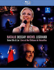 Natalie Dessay and Michel Legrand: Live at the Château De... Blu-ray NEW