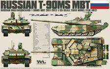 Tiger Model 4612 1/35 Russian T-90MS Main Battle Tank